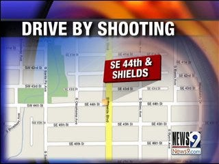 OKC police investigate drive-by shooting