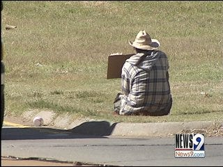 Victim, police warn about panhandlers