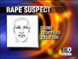 OKC police search for rape suspect