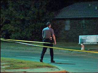 Police search for shooting suspects