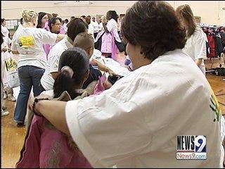 Keeping Kids Warm Program makes way to Oklahoma