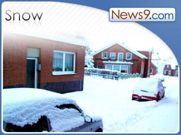 N. Maine Got 6 Inches Of Snow