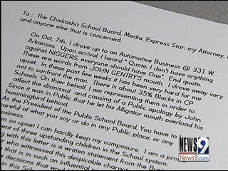 School board president resigns for racial remark