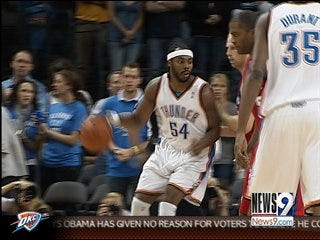 Tisdale ready to 'grow' with Thunder