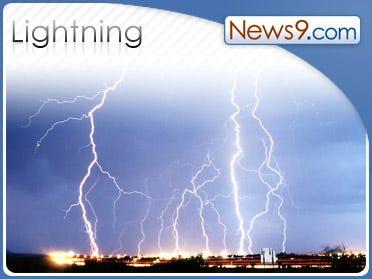 NY man survives lightning strike at gas station
