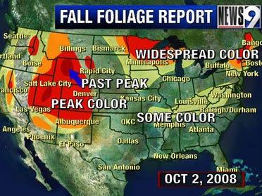 Weekly Fall foliage update: Oct 3