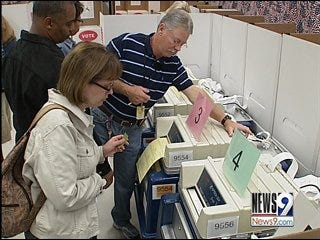 Over 5,000 Oklahomans turned out to vote early