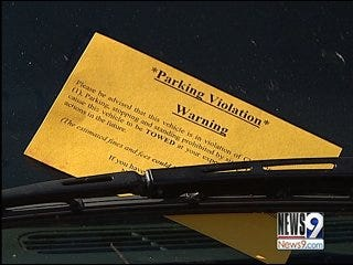 Police to enforce OU game day parking