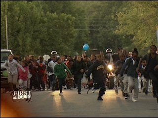 Promoting safety, fitness by walking to school