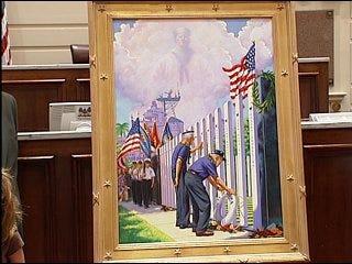 USS Oklahoma marines and sailors remembered