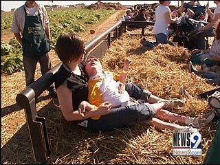 Therapy through the pumpkin patch