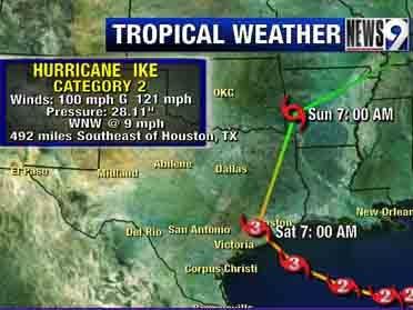 Ike Blog: Thursday 3:45 p.m.