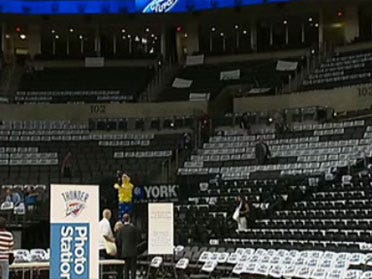 Thunder season tickets sold out