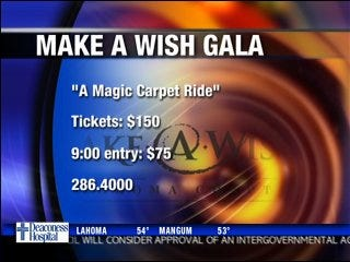 Make a Wish Foundation to host gala