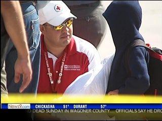 Oklahoman helps with hurricane relief