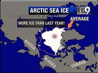 Non-record setting temperatures cover the globe