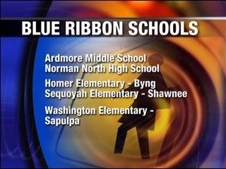 Oklahoma schools honored with Blue Ribbon Award