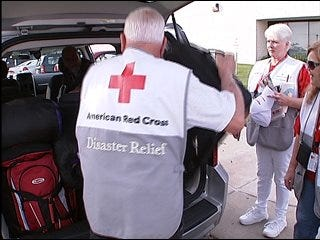Oklahomans volunteer to help Houston recover from Ike