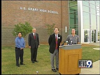 Student arrested; high school locked down