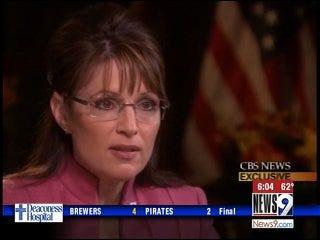 CBS News Exclusive: Sarah Palin