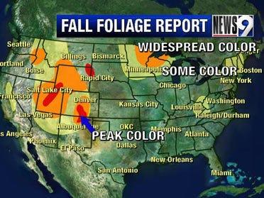 Weekly Fall foliage update: Septemer 25