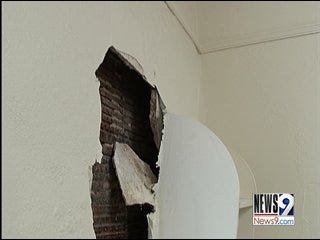 Mold moves into UCO dorms