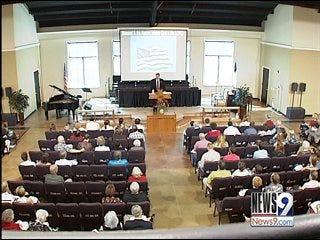 Pastors preach for politics on pulpit
