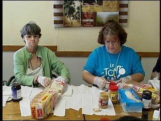 Nursing home giving back to homeless