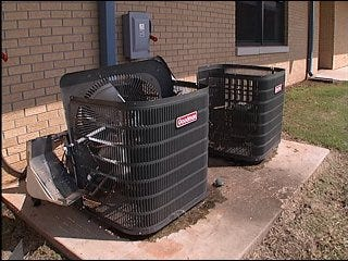 Copper thefts problem for school district