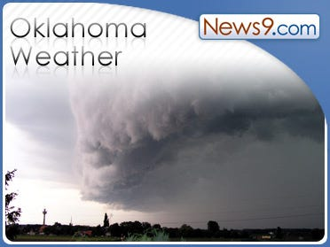 Heavy rain in northern Oklahoma