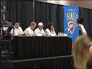 Thunder rolls out dance tryouts