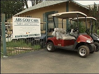 Noble residents question legalizing golf carts on city streets