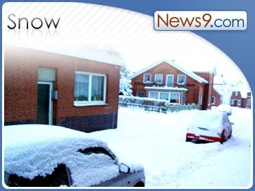Heavy Snow Hits Mountains