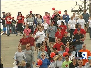 Friends, Family Walk for Heart Health