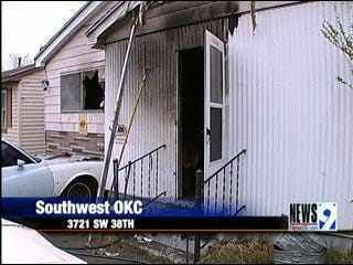 Metro Woman Wakes to House on Fire