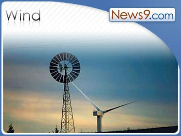 Destructive High Winds In Oklahoma