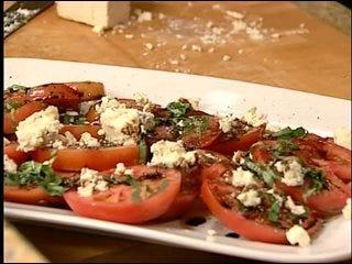Beefsteak Tomato Basil Salad