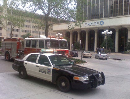 Chase Building Safe After Suspicious Package Scare
