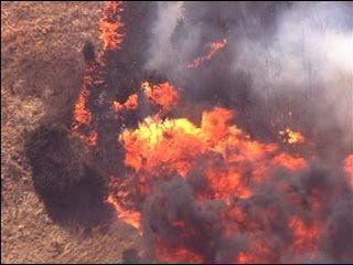 Wildfire Damages Payne County Structures