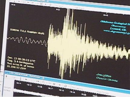 2009 Record Year for Oklahoma Earthquakes