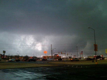 Twister Touches Down in Oklahoma City