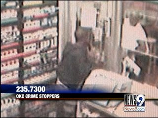 Oklahoma City Police Search for Robbery Suspect
