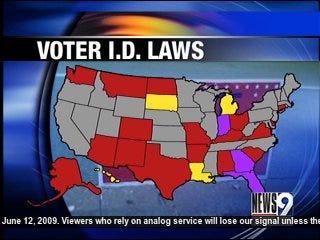 State Legislature Considers Voter ID Law