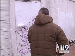 Wiping Out Graffiti in Southeast Oklahoma City