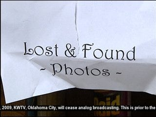 Church Collects Lost Memories in Lone Grove