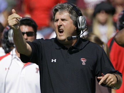 Mike Leach to Stay at Texas Tech Until 2013