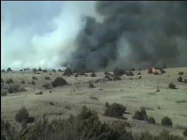 Wild Fire Burns 1,500 Acres