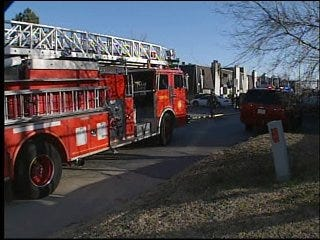 Apartment Fire Sparked in Kitchen