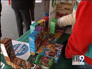Girl Scout Cookie Sales Up in Oklahoma