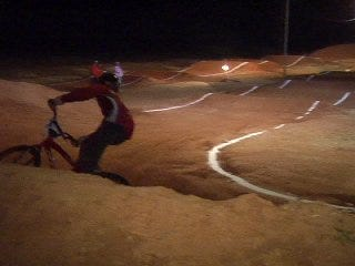 From 5-years-olds to Olympians at the BMX Raceway
